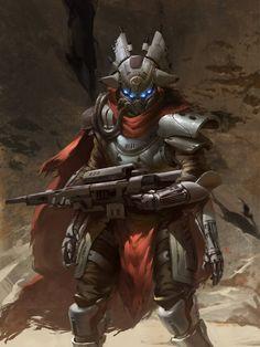 The Fallen Fan Art by Jordan Evans Character Concept, Character Art, Concept Art, Character Design, Game Concept, Character Ideas, Cyberpunk, Destiny Fallen, Cayde Destiny