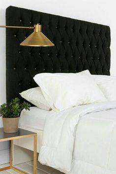 Wunderschönes Bett Kopfteil. Ganz leicht selber machen damit jedes Bett königlich aussieht.