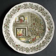 MERRY CHRISTMAS (Johnson Bros) - I may have finally found Christmas dishes