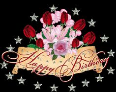 Happy Birthday happy birthday happy birthday wishes happy birthday quotes happy birthday images happy birthday pictures happy birthday gif Late Happy Birthday Wishes, Happy Birthday Rose, Birthday Roses, Birthday Blessings, Happy Birthday Messages, Glitter Birthday, 25th Birthday, Birthday Cake, Animated Birthday Greetings