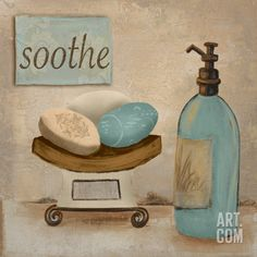 Soothe Art Print by Hakimipour-ritter at Art.com