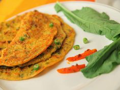 In the mood for a quick snack or looking at a different breakfast option, sans eggs? Try Veena's Sindhi Besan Omelette! It's quick to make, perfect for a gru...