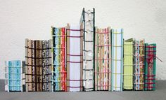 My 1000th post giveaway: 10 handmade coptic books, bookbinding