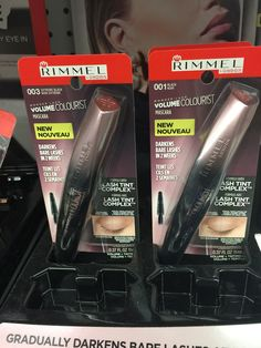 Rimmel The Big Smoke and Tint Over Time for Fall 2016