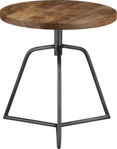 dot acacia side table-stool in view all furniture | CB2 - A side table and stool!  Brilliant for a basement that needs occasional extra seats for teen gamers!