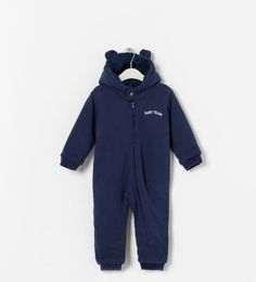 ZARA - KIDS - HOODED JUMPSUIT