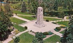 Dyer's Memorial Many memories made here Huntsville Ontario, Sidewalk, Memories, Memoirs, Pavement, Remember This, Curb Appeal