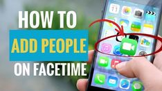 You can add people during your FaceTime session as long as the number of people is below 32 people. Here are the steps. Group Facetime, Cellular Network, Contact List, Instant Messaging, Apple Tv, Communication, Ads, Messages