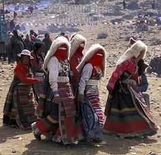 Tibetan Pilgrams