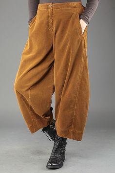 We Believe In Fantastic Oska Pasadena Harem Pants, Trousers, Corduroy, Parachute Pants, Sewing Patterns, Women, Image, Fashion, Trouser Pants