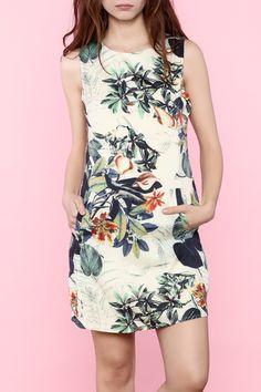 59$  Buy now - http://viqvq.justgood.pw/vig/item.php?t=e4l8r5p3694 - Floral Print Dress 59$