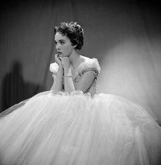 Julie Andrews as Cinderella in 1957.