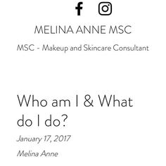 New blog up about who I am and what I do.