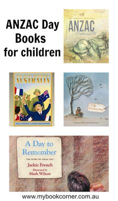 ANZAC Day books for children to learn from. A well researched list of both picture books and chapter books. Kindergarten Activities, Educational Activities, Preschool, History Activities, History Education, Australian Authors, Anzac Day, Australia Day, Australian Curriculum