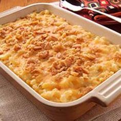 VELVEETA Down-Home Macaroni & Cheese.Omg this is the BEST mac and cheese recipe I have EVER come across. Making for Thanksgiving. Cant wait to see what my family says about it. Mac N Cheese Velveeta, Macaroni Cheese Recipes, Baked Macaroni, Velveeta Recipes, Pasta Recipes, Yummy Recipes, Quick Recipes, Cheddar Cheese, Seafood Recipes