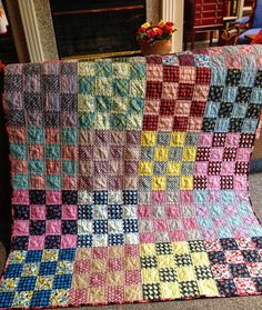 Simply Miss Luella: Shelburne Falls Quilt Finish.......