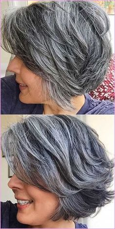 Most Preffered Short Hairstyles for Over Most Preffered Short Hairstyles for Over Gray Wigs Hair Gray Human Hair WigsReal Hair Grey Wigs – wigsshort Gray Wigs Hair Dark Grey Hair Dye PermanentGray Hair On Black Girl – wigsshort Gray Lace Frontal Wi. Grey Curly Hair, Silver Grey Hair, Short Grey Hair, Short Hair Cuts, Short Hair Styles, Grey Hair Styles, Silver Haired Beauties, Grey Hair Inspiration, Transition To Gray Hair