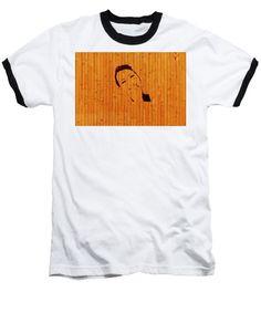 Wooden Art - Baseball T-Shirt