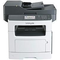 Lexmark 35S5702 MX510DE Laser Multifunction Printer - Monochrome - Plain Paper Print - Desktop - Copier/Printer/Scanner - 45 ppm Mono Print - 1200 x 1200 dpi Print - 45 cpm Mono Copy - Touchscreen - 1200 dpi Optical Scan - Automatic Duplex Print - 350 she