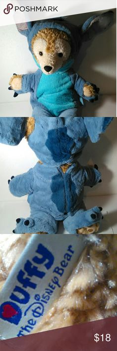 Duffy the Disney Bear wearing Stitch outfit Great condition Official Duffy the Disney Bear wearing a Stitch outfit. Disney Other