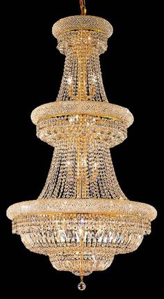 gorgeous chandelier! OK! I KNOW! not the usual human bling, but just doesn't fit any other category.