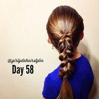 Girly Do Hairstyles: By Jenn: Week 13 {#GirlyDos100DaysofHair}