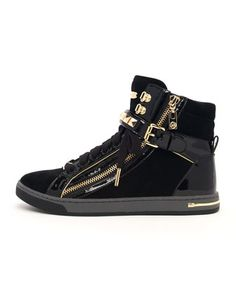 GLAM STUDDED HIGH TOP by MICHAEL Michael Kors at Neiman Marcus.