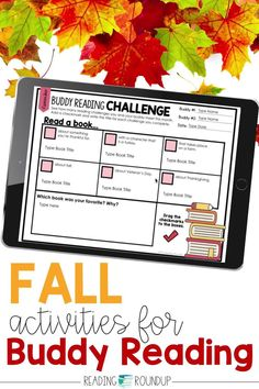 Is your Daily 5 Buddy Reading Center as effective as you'd like for it to be? These fall and Thanksgiving themed digital and printable reading buddies bookmarks are guaranteed to lead to more student engagement. Elementary students can with these bookmarks and graphic organizers for character analysis while reading. Reading response sheets are also available for additional accountability during literacy centers. A must-have for your reading workshop! Reading Centers, Reading Workshop, Reading Activities, Literacy Centers, Partner Reading, Reading Response, Student Reading, Reading Buddies, Comprehension Strategies