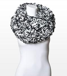 The chunkiest of chunky scarves! It looks like warm, cozy, heaven. Thick Eternity Knit Scarf | Dynamite