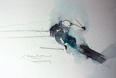 skiing drawing - Hledat Googlem