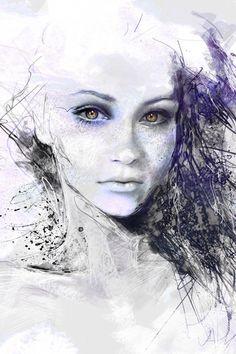 Artistic digital girl by Zedge