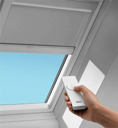 "Need to look into: ""Automated Black-Out Blind for Skylight to provide optimal heat protection during the summer"