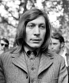 Charlie Watts In the park 1969 by Zetach, via Flickr.  Saville Row suits.