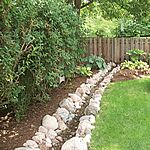 SRG Trench and Channel Drain systems are an effective and proper solutions when perimeter drains are needed for your softscaped areas. Our applications include patios, yards, pathways, perimeter drainage and lawn and garden drainage. Proper runoff from landscape areas is important to the safety and health of your yard.