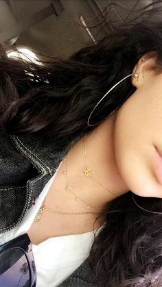 Kelsey simone #jewelery #earrings # hoops #necklace #choker