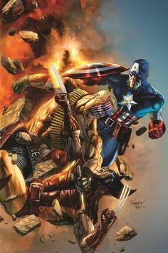 Cool variant comic cover art. #comics #marvel