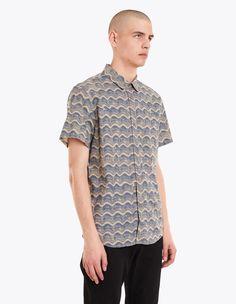 A.P.C. - Austin Shirt Beige | TRÈS BIEN