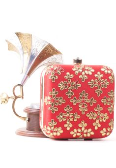 Silk Brocade, Spring Sale, Red Fabric, Womens Purses, Festival Party, Wallets For Women, Fashion Bags, Purses And Bags, Clutches