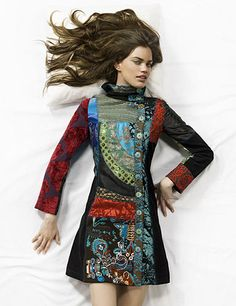 Desigual is a spanish brand and i LOVE their stuff. I mostly buy their coats because they are ....AMAZING. Their mix of patterns should not work well but they do! Take a look at these coats....and prepare to drool.... Their coats seem to have a japanese look to them even though NOTHING on the
