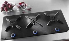 The new Flat Iron gas hobs from Hoover reinterpret a classic has hob. The new hobs offer bold innovative design, featuring smooth satin finished [. Glass Ceramic, Kitchen Hob, Kitchen Appliances, Danette, Lenotre, Electric Hob, Cooking Stove, Gas Stove, Kitchens