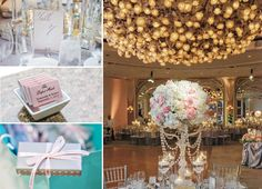Designed by Coordinator Meg West, a Beverly Hills Hotel wedding in classic glamour.