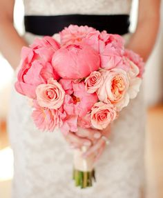 Pink #wedding #bouquet