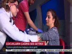 """TRTHABER: """"Kan Bağışında Türkiye Rekoru"""" yayını-Cahide Ahmet Dalyanoğlu ..."""