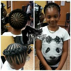 Halo braids for kids