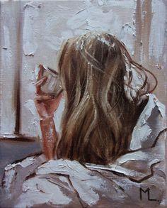 Foto Portrait, Portrait Art, Aesthetic Painting, Aesthetic Art, Wal Art, Impressionism Art, Renaissance Art, Lovers Art, Female Art