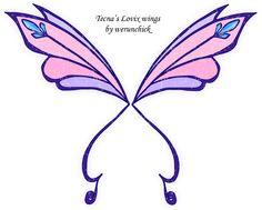 Tecna's Lovix wings by werunchick on DeviantArt