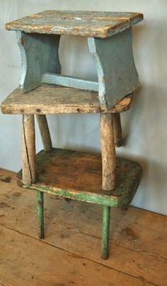 brocante meubels tweedehands make one from old wood so cute!