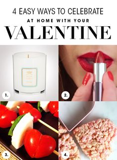 4 Easy Ways To Celebrate At Home With Your Valentine  |  Skincare and Beauty Blog: Beauty Products Reviews, Advice and Tips from Dermstore