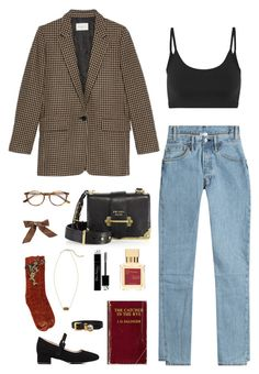 """Fall"" by zero-carbs ❤ liked on Polyvore featuring Vetements, Helmut Lang, Barneys New York, Prada, Bocage, Maison Francis Kurkdjian, Paul & Joe, Christian Dior, 3.1 Phillip Lim and Miu Miu"