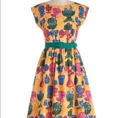 Still got it dress bea & dot modcloth EUC dress from modcloth. Bea & dot brand. Medium and comes with belt! ModCloth Dresses Midi